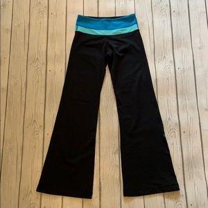 Lululemon Reversible Blue & Black Pants